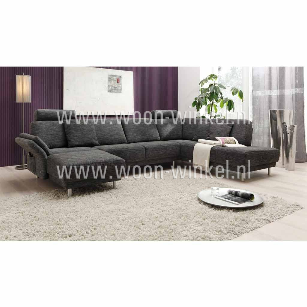 musterring hoekbankstel mr577 met elektrische verstelbare chaise longue woon winkel. Black Bedroom Furniture Sets. Home Design Ideas