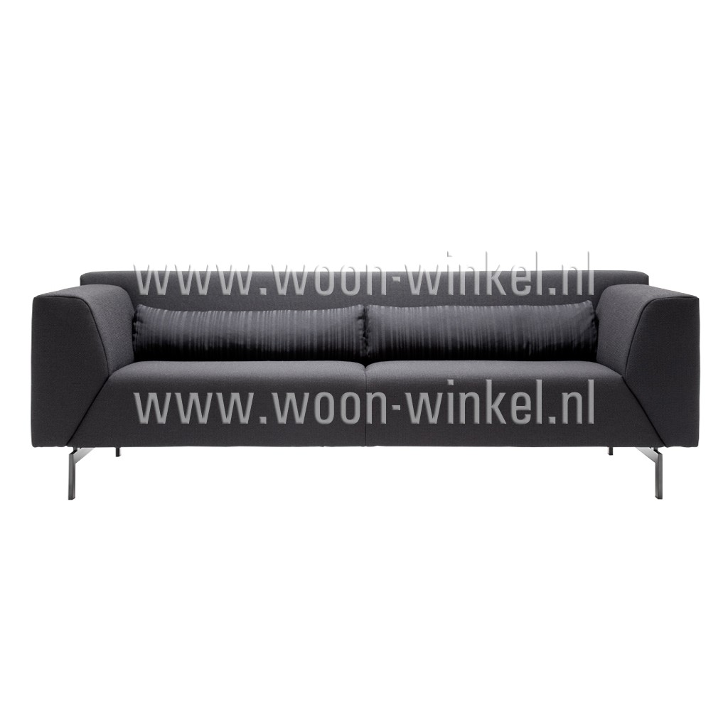 rolf benz linea 318 2 5 zits stoffen bank voor een zeer. Black Bedroom Furniture Sets. Home Design Ideas
