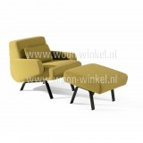 Moome Scandy fauteuil incl. pouf
