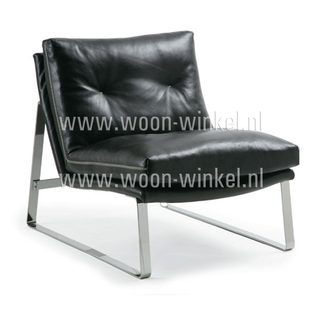 Fauteuil Zonder Armleuning.Conform Shabby Fauteuil Leder Zonder Armleuning Woon Winkel