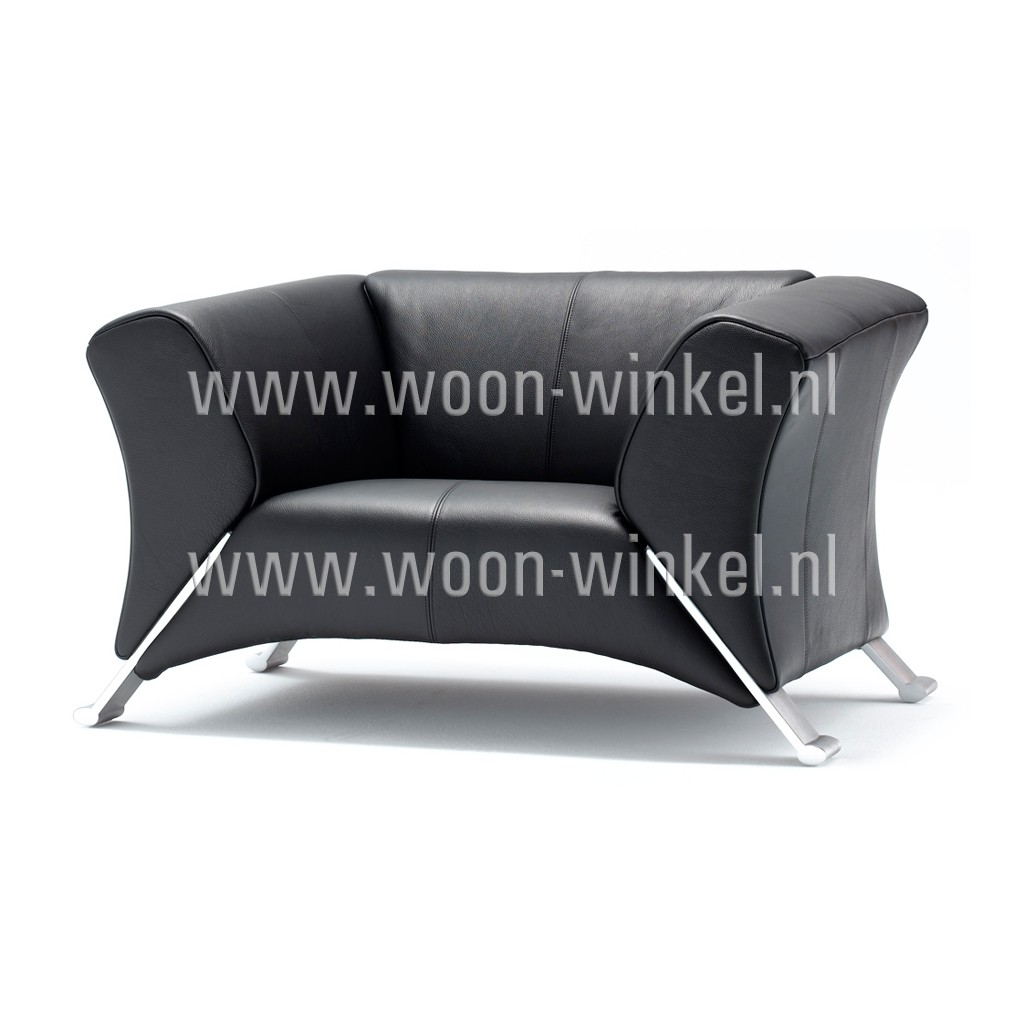 rolf benz 322 fauteuils in leer woon winkel. Black Bedroom Furniture Sets. Home Design Ideas