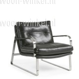 Conform Shabby fauteuil leder met armleuning